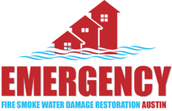 Emergency Fire Smoke Water Damage Restoration Austin Logo